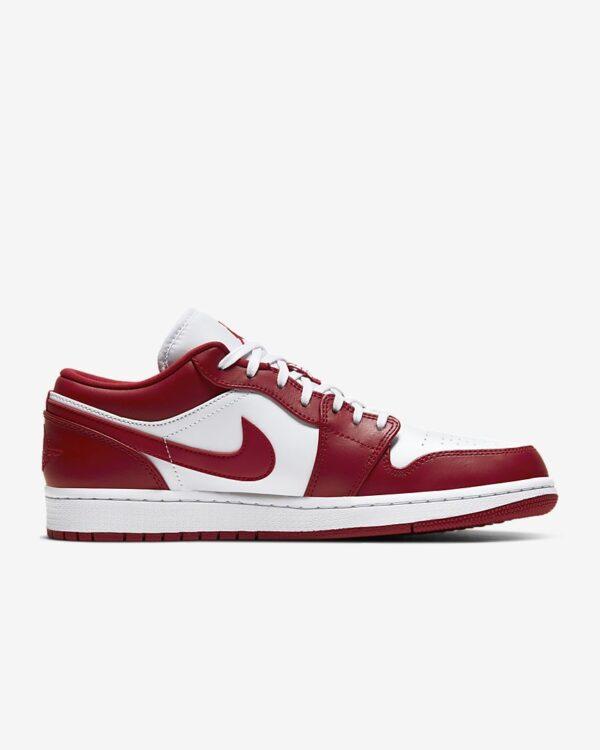 Jordan 1 Low Gym Red White nổi bật