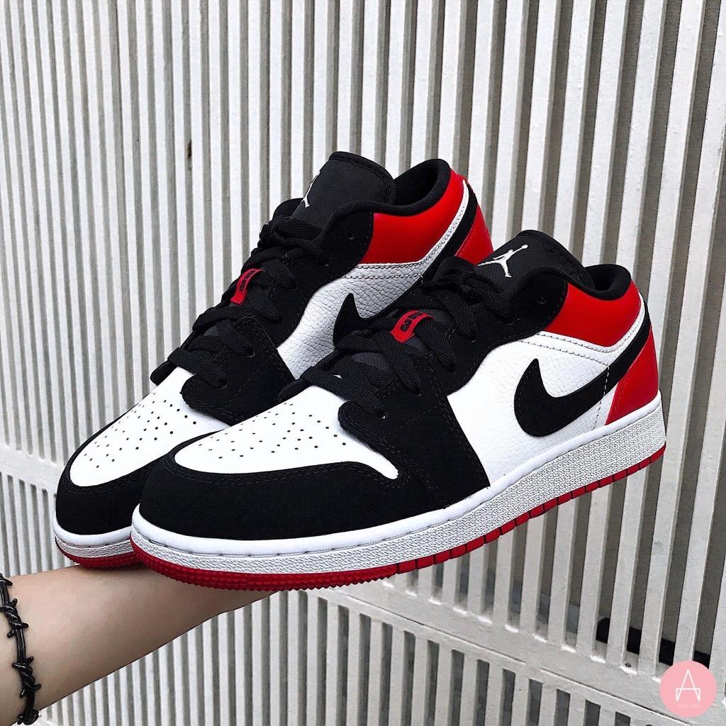 Nike Air Jordan 1 Low Black Toe 5