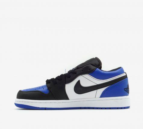 Hông giày Nike Air Jordan 1 Low 'Royal Toe'