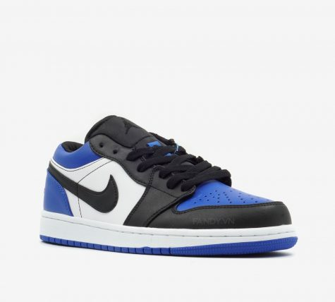 Tổng quan giày Nike Air Jordan 1 Low 'Royal Toe'