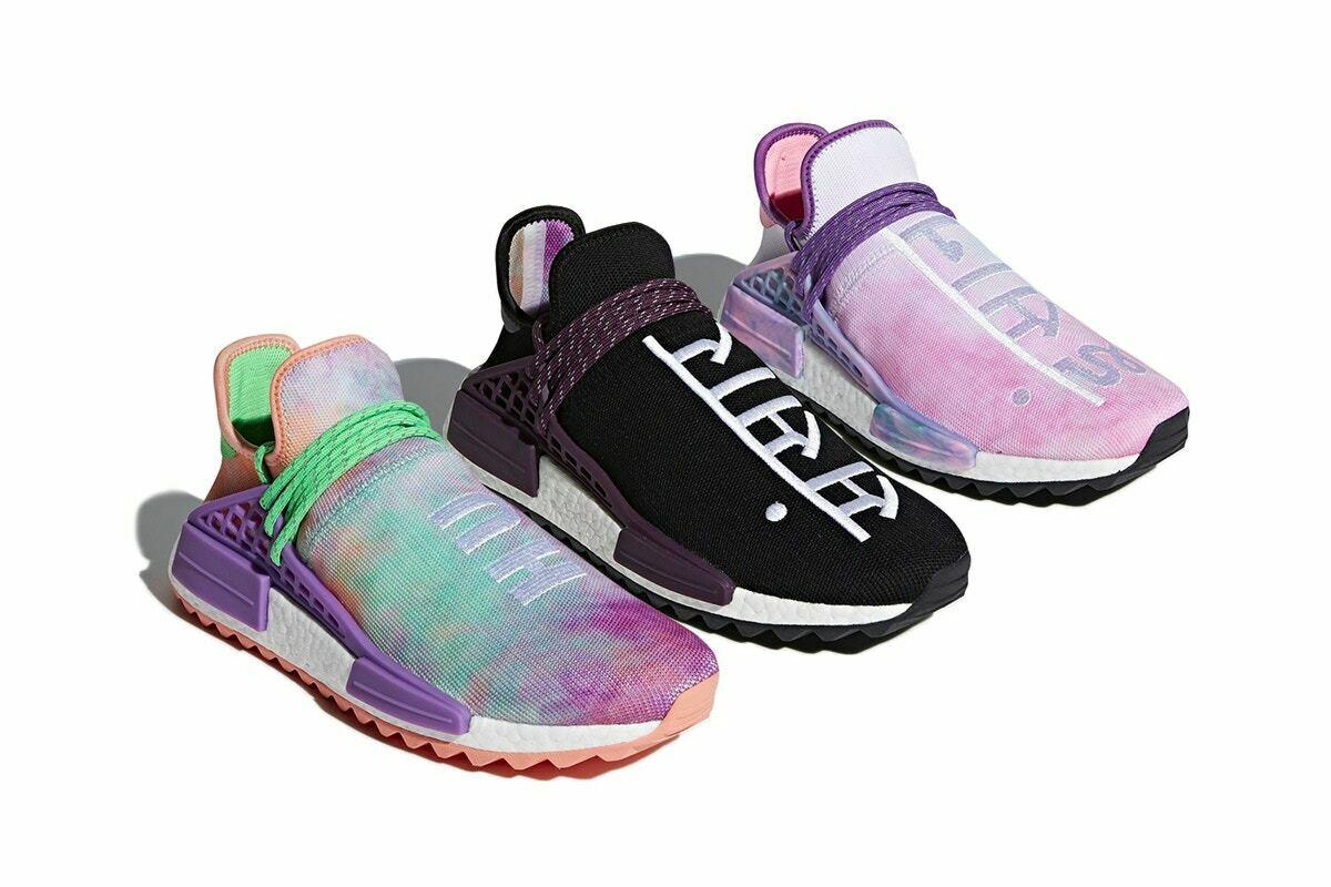 Pharrell x adidas Originals HU Holi NMD Tie Dye