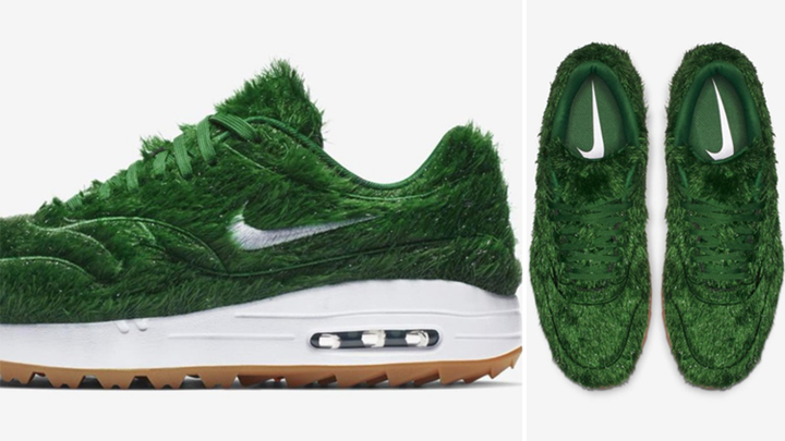 Phien ban Nike Air Max 1 Golf Grass doc va la