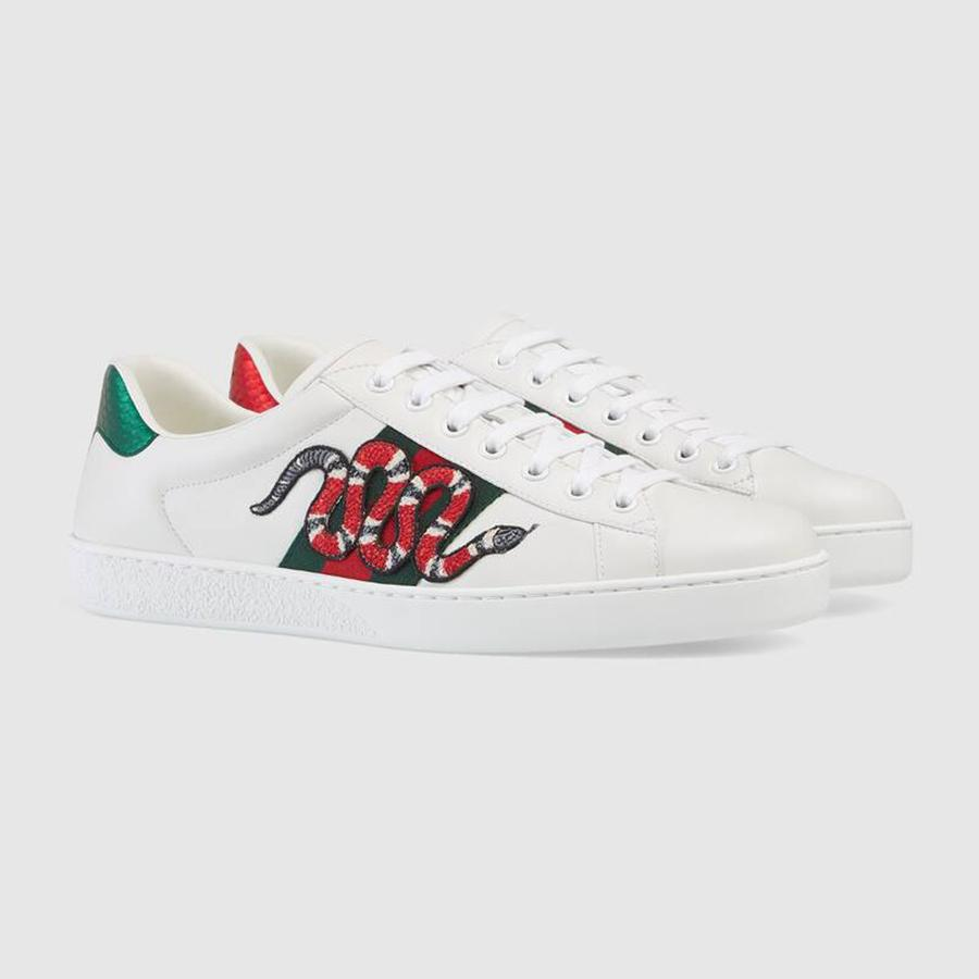 Sneaker theu Gucci Ace Embroidered 1