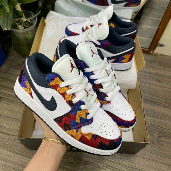 Giay Nike Air Jordan 1 Low Nothing But Net 2