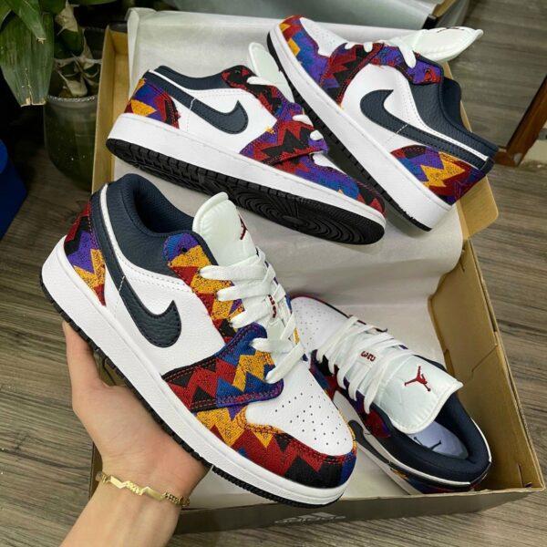 Giay Nike Air Jordan 1 Low Nothing But Net 5