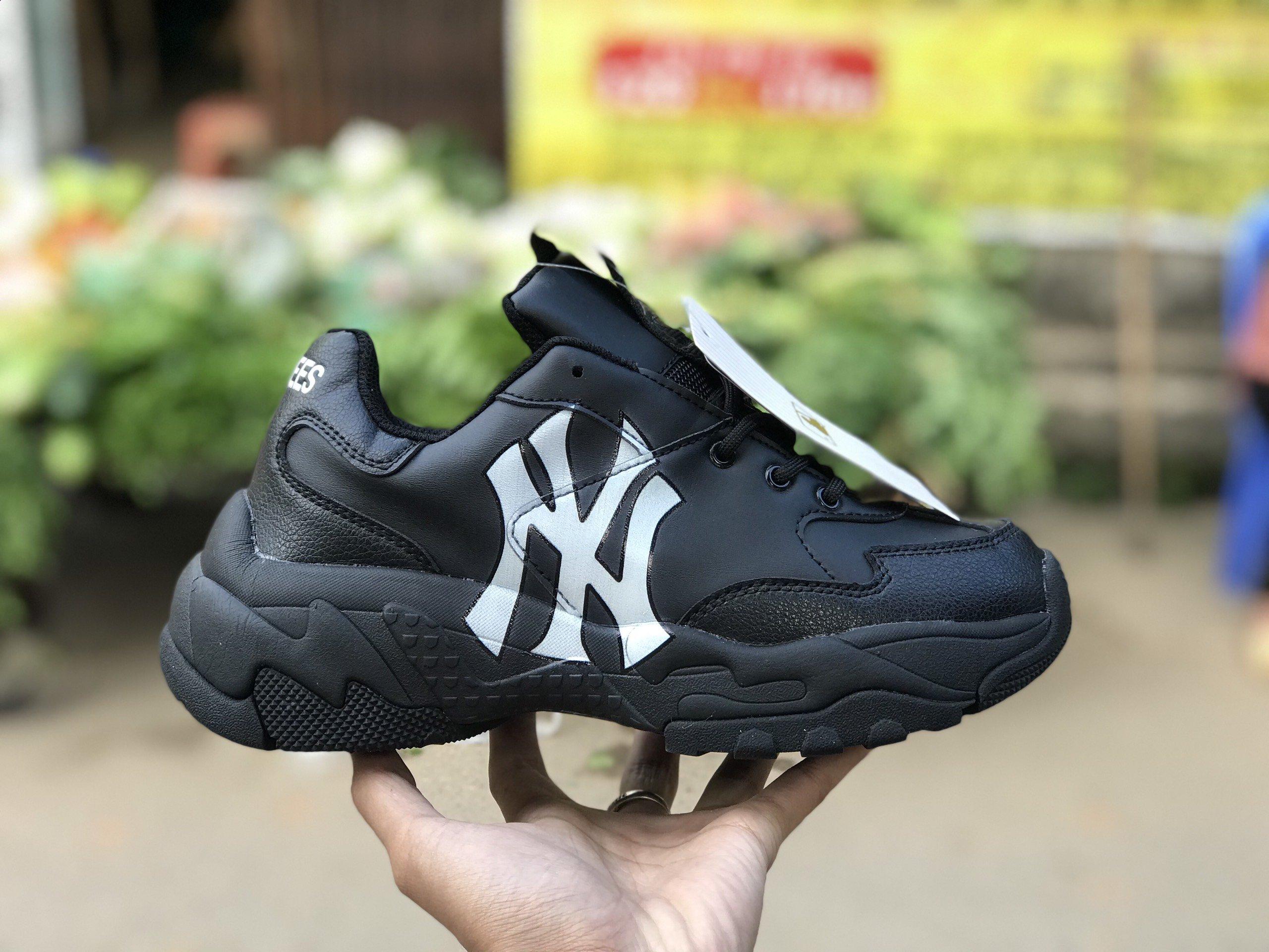 MLB NY New York Yankees Black Đen Rep 1:1