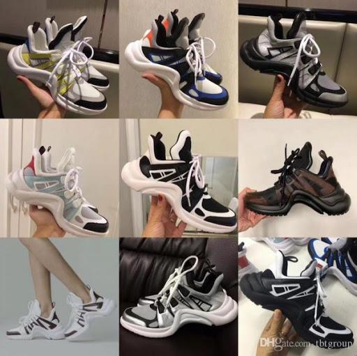 Giay sneaker nu lv