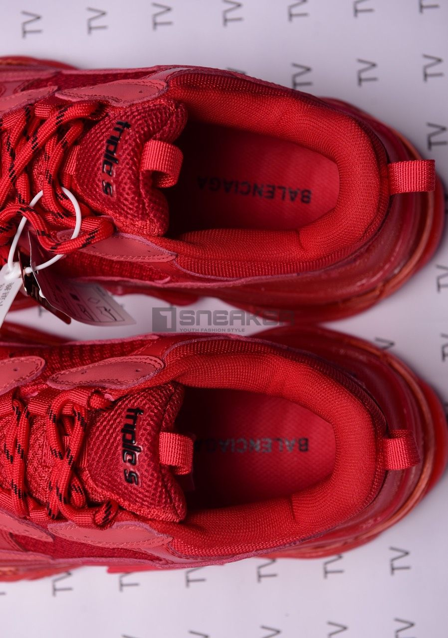 Balenciaga đỏ mặn rep 1:1