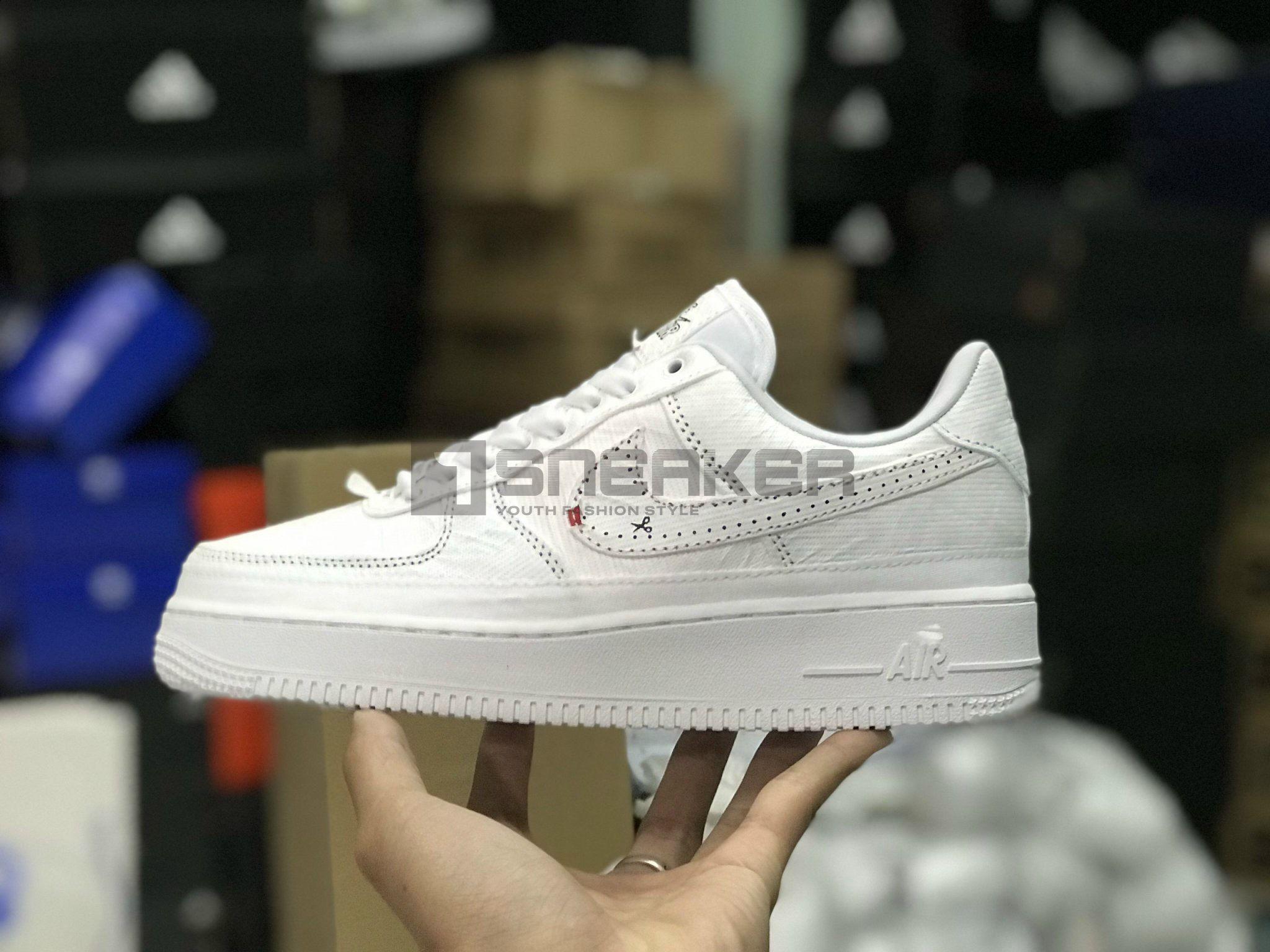 Nike Air Force 1 All-White GIÀY NIKE XÉ REP 1:1 FULLL màu