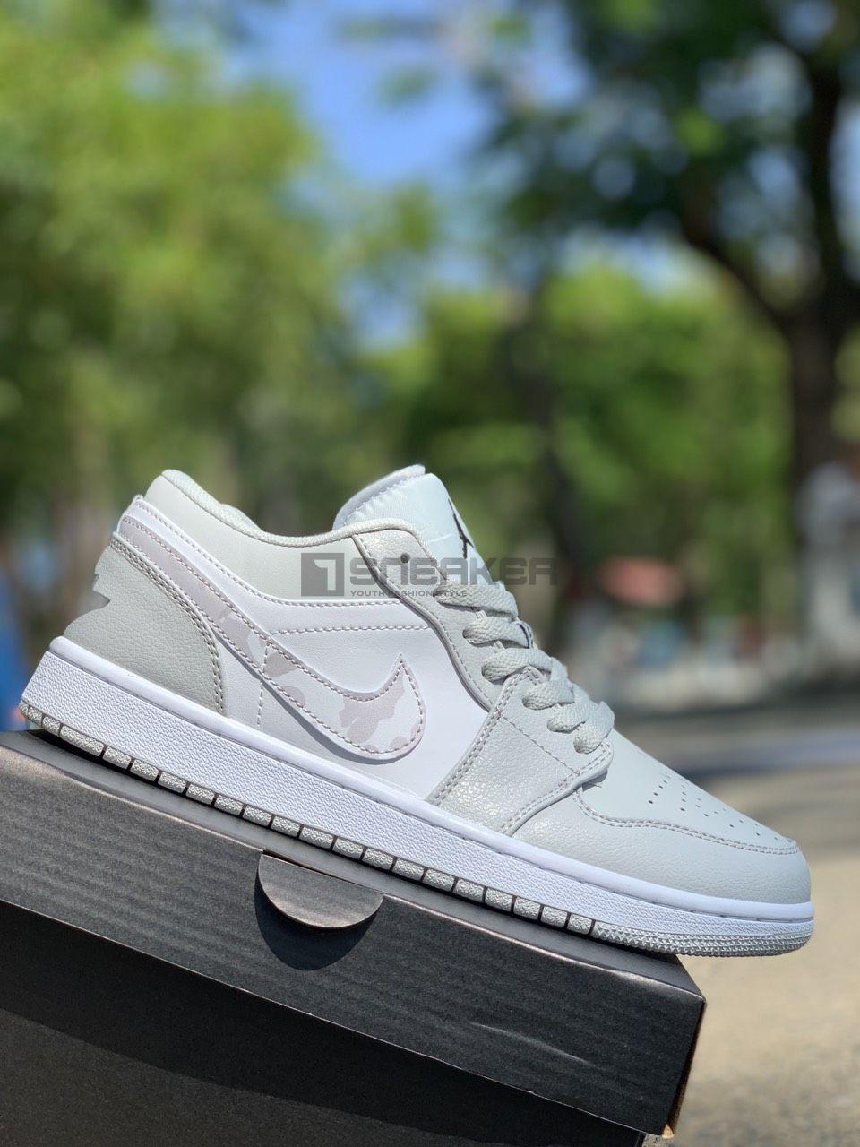 Nike Air Jordan Trang 1 Low Triple White REP 11 8 1