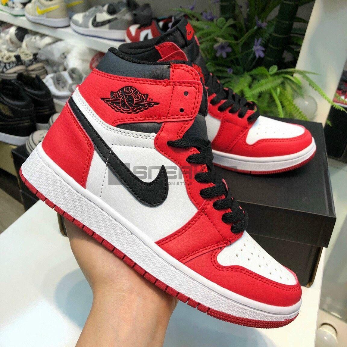 Nike Đỏ Trắng Jordan 1 Retro High Og Chicago