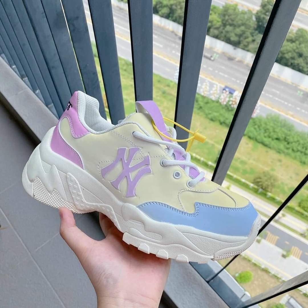 giày mlb đổi màu hót tháng 9 2021