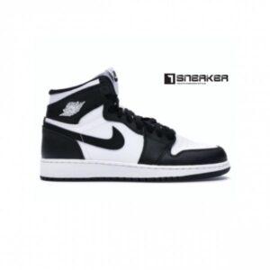 Giay Nike Air Jordan 1 Panda Den Trang 5