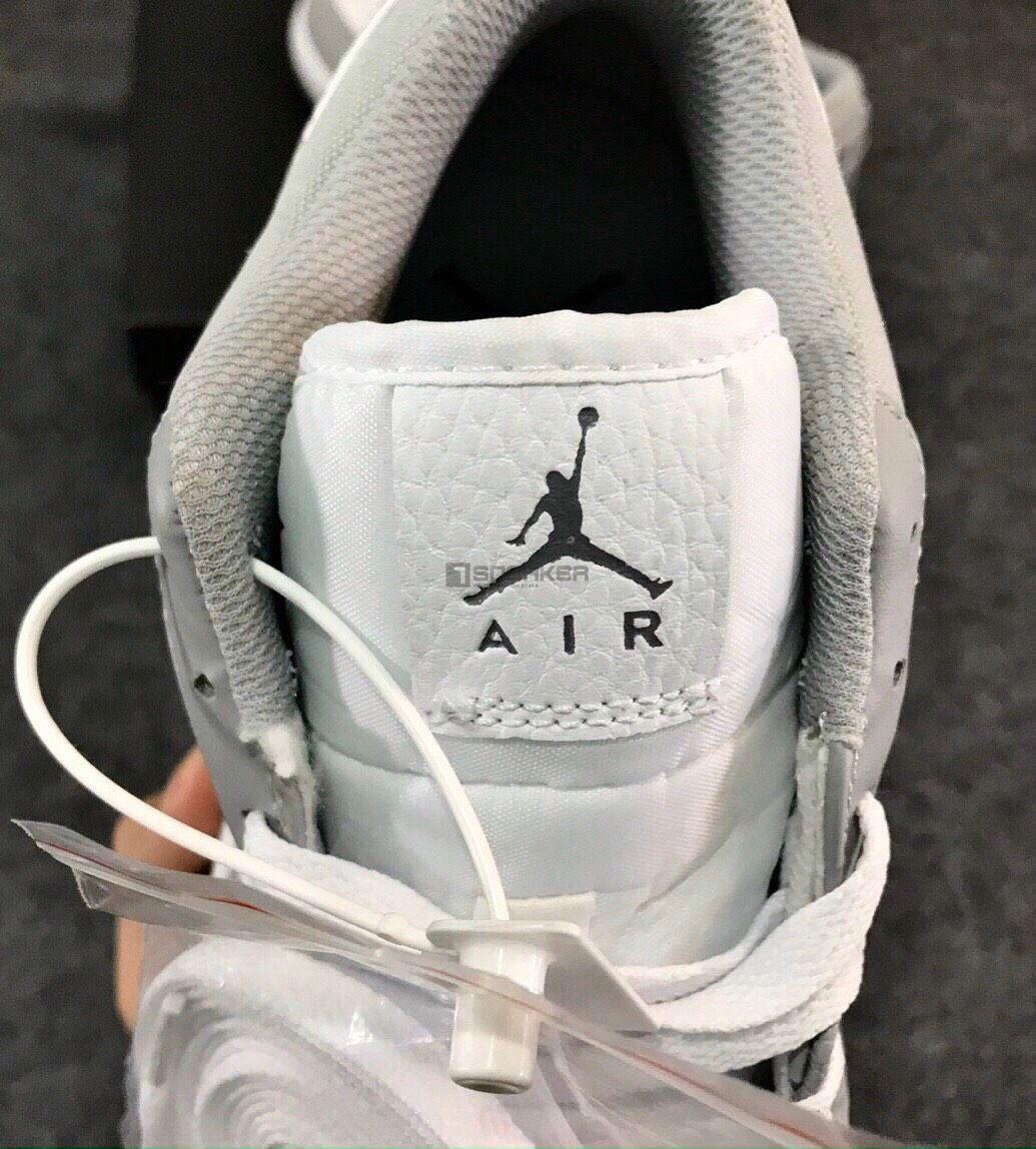 Air Jordan 1 Low Berlin Grey Rep có logo huyền thoại ở đàng trước