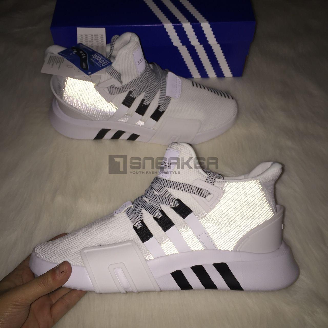 Adidas EQT Bask ADV trang den phan quang 1