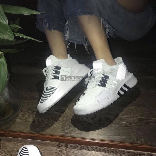 Adidas EQT Bask ADV trang den phan quang 3