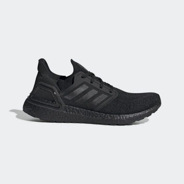 Adidas Ultra Boost 20 Triple Black Den Full 1