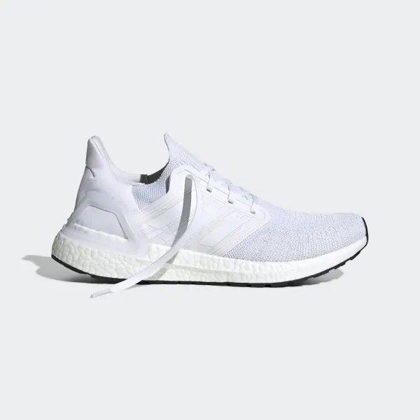 Adidas Ultra Boost 20 Triple White All White 2