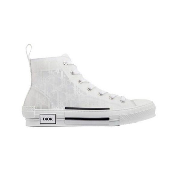 Giay Dior B23 High Top White Dior Oblique 5