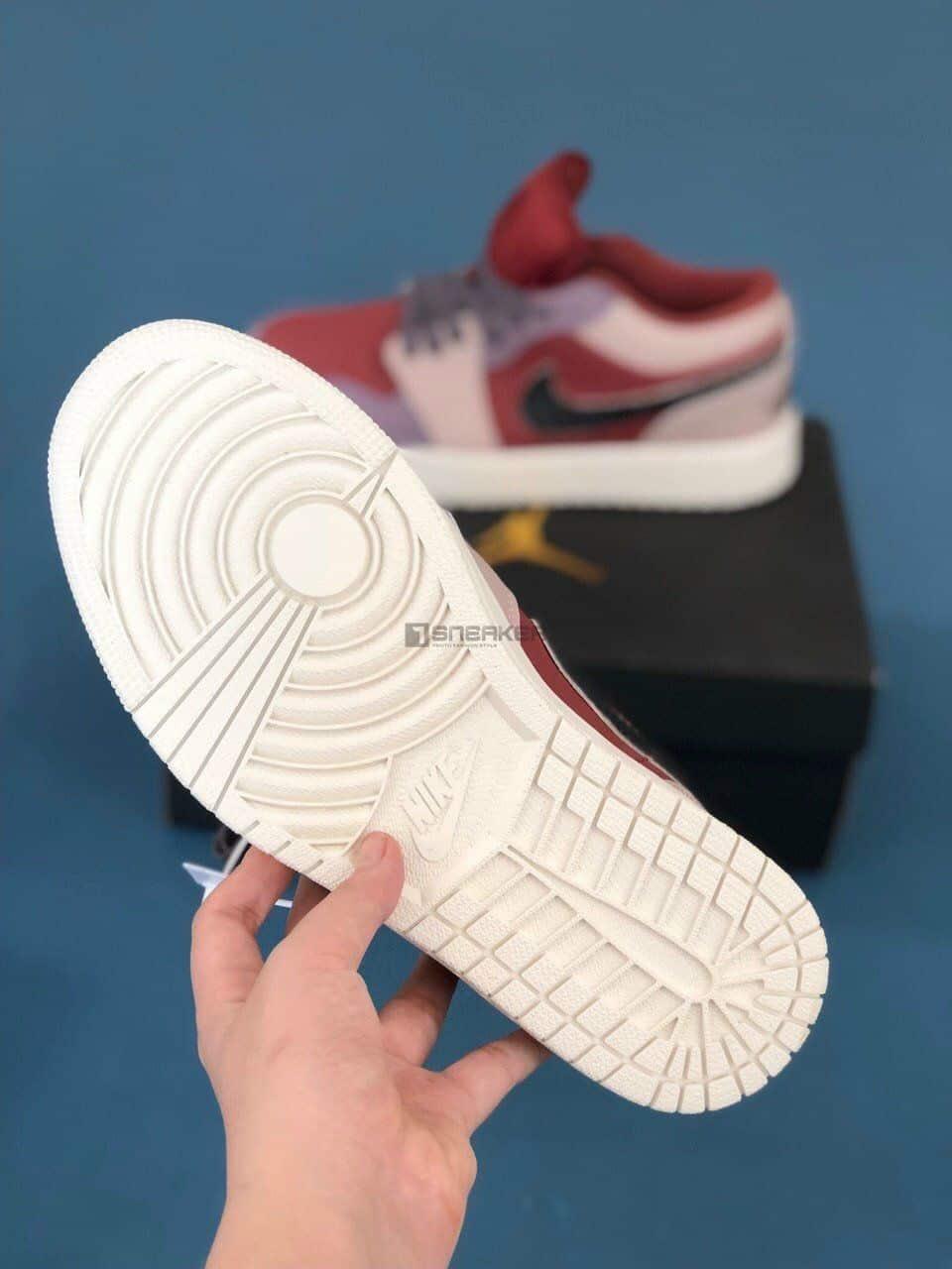 Đế giày Nike Air Jordan 1 Low Canyon Rust