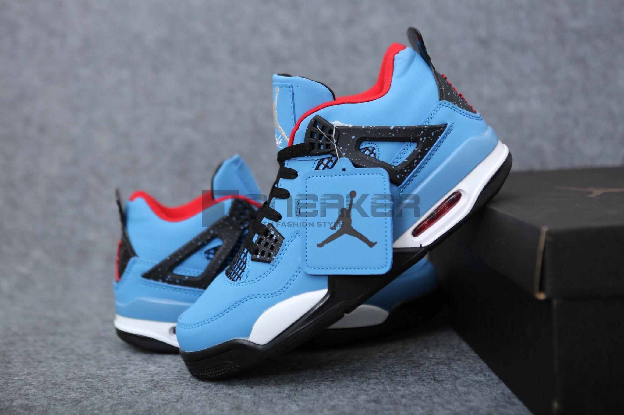 Giay Nike Air Jordan 4 Travis Scott Pk God Factory 4