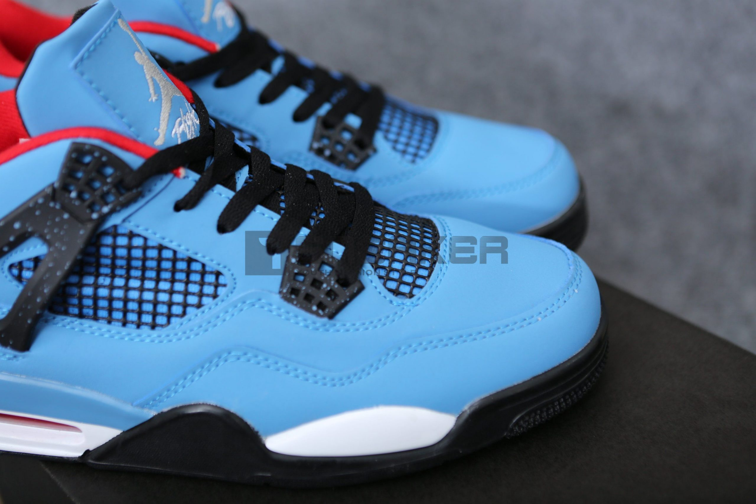 Giay Nike Air Jordan 4 Travis Scott Pk God Factory 7 scaled