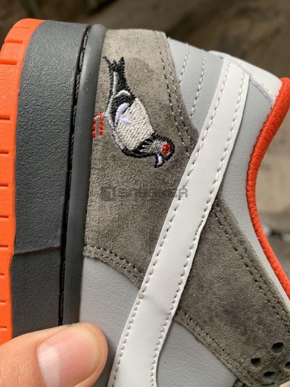 Hình ảnh bồ câu trên giày NIKE SB NYC PIGEON