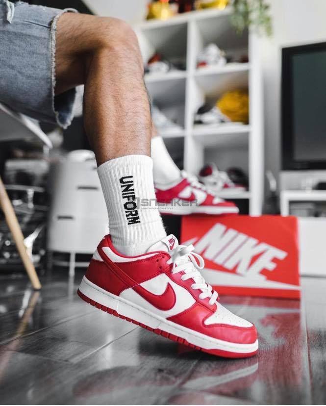 Nike Dunk Đỏ Low University Red