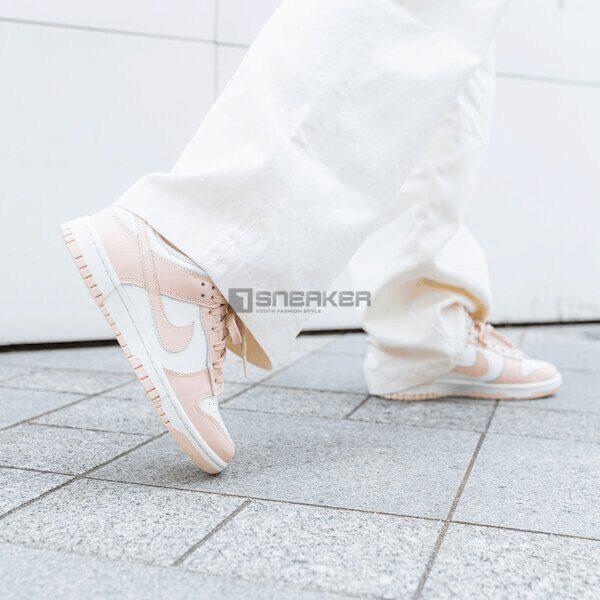Giày Nike Wmns Dunk Low 'Orange Pearl năng động, cuốn hút