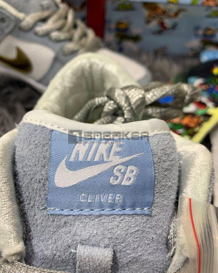 Nike SB Dunk Low Sean Cliver Like Auth cận cảnh