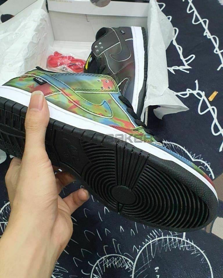 Nike Sb Dunk Low Civilist nhiệt đổi màu mặt đế