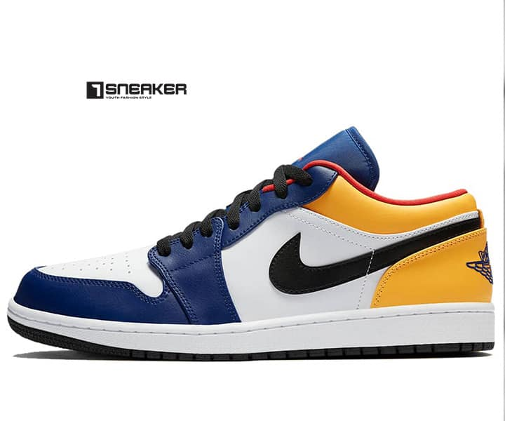 Air Jordan 1 Low Royal Yellow