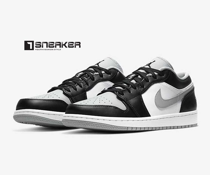 Giày Nike Jordan 1 Low trắng đen