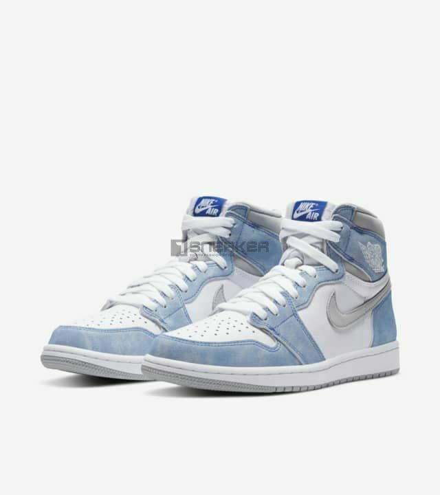 Giày Nike Air Jordan 1 Hyper Royal