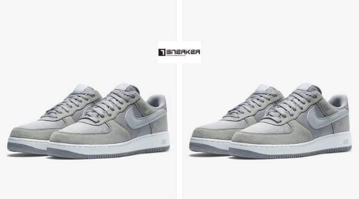 Giày nike air force 1 xám