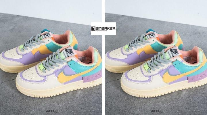 Giày nike air force 7 màu