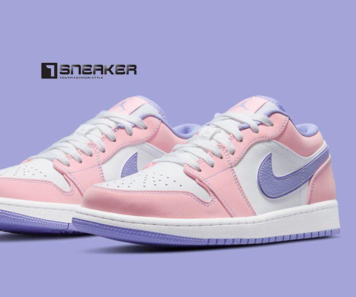 Giày Nike Jordan 1 Low Hồng Tím