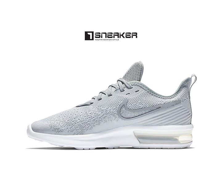 Giày Nike nữ màu xám