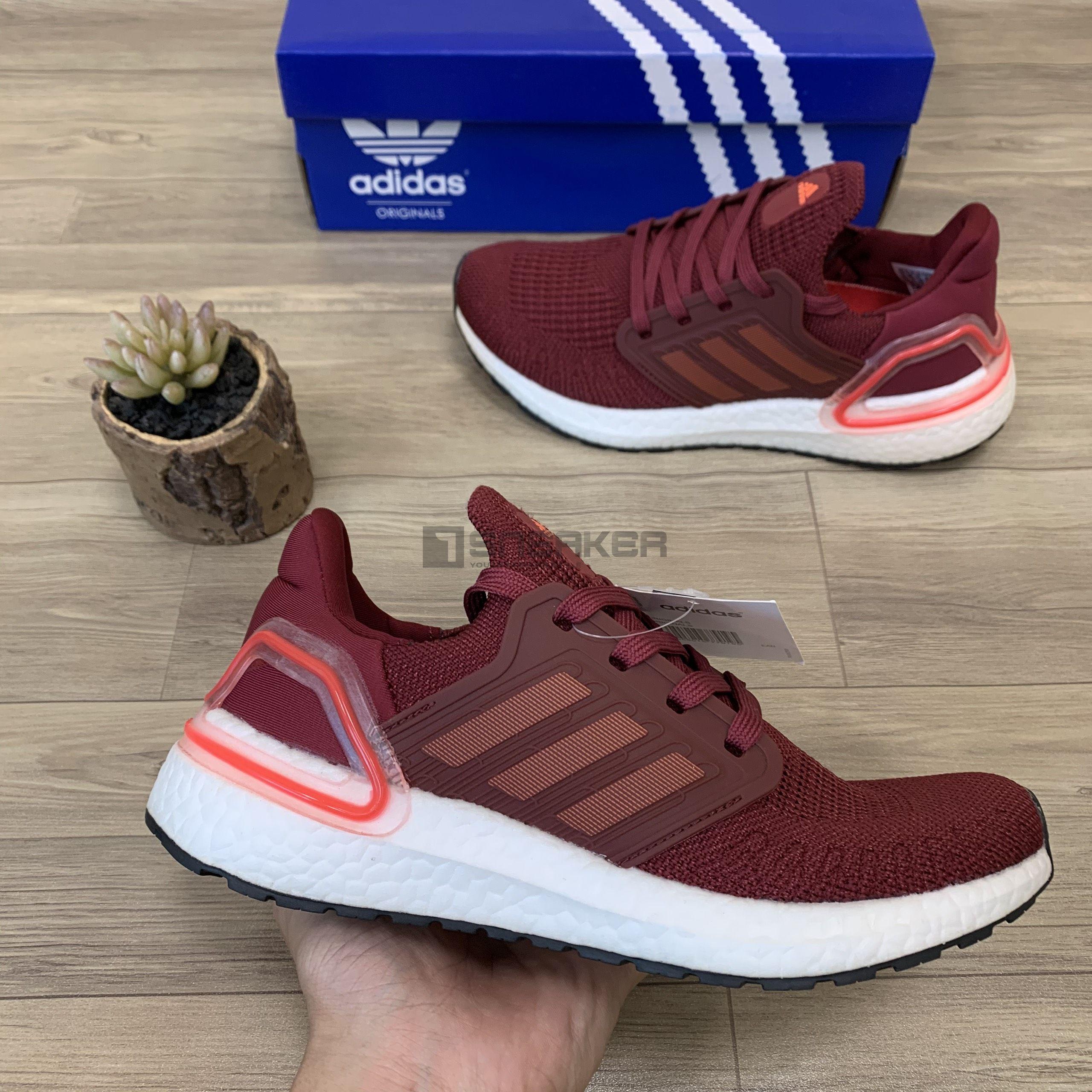 Giày Sneaker Ultraboost 6.0 đỏ mận giá rẻ