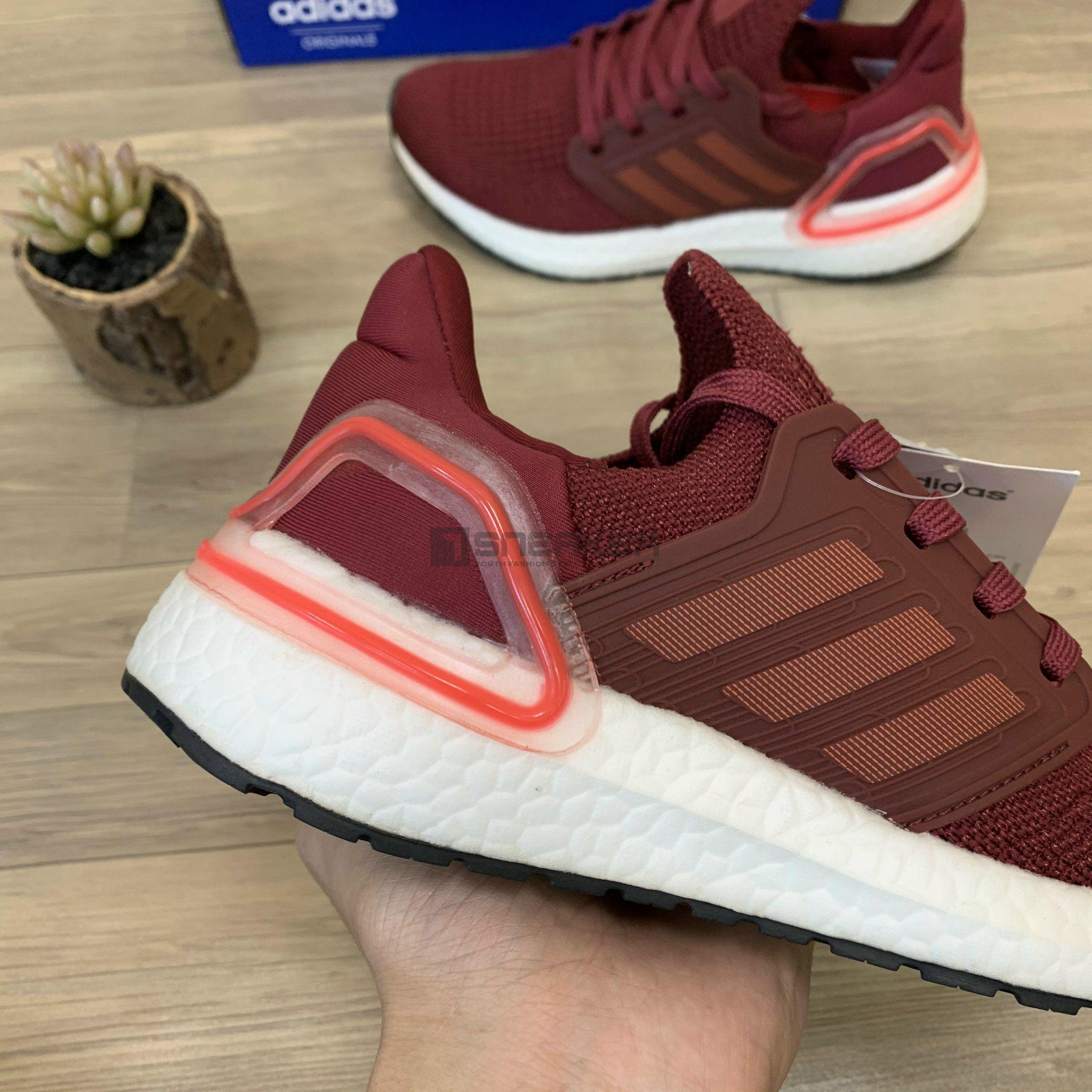 Giày Sneaker Ultraboost 6.0 đỏ mận replica 11 giá tốt tphcm