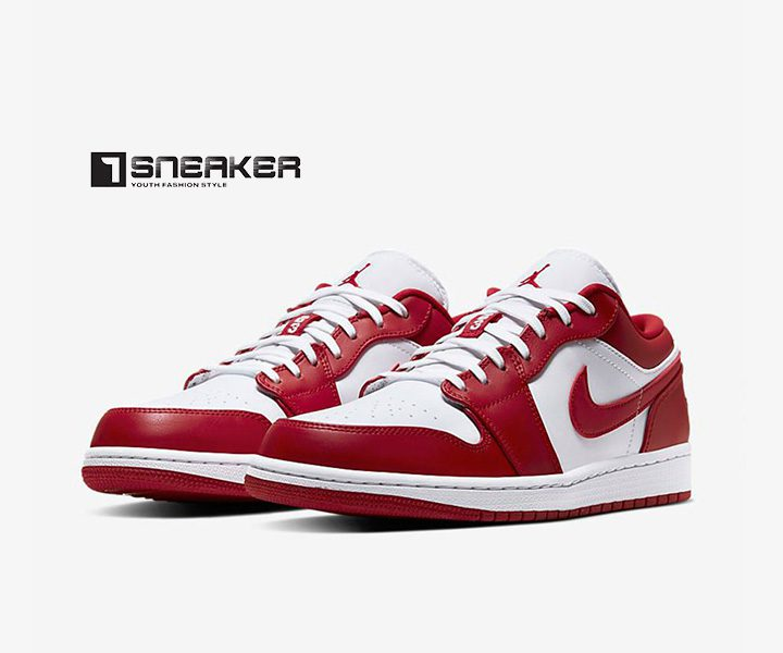 Nike Air Jordan Low đỏ
