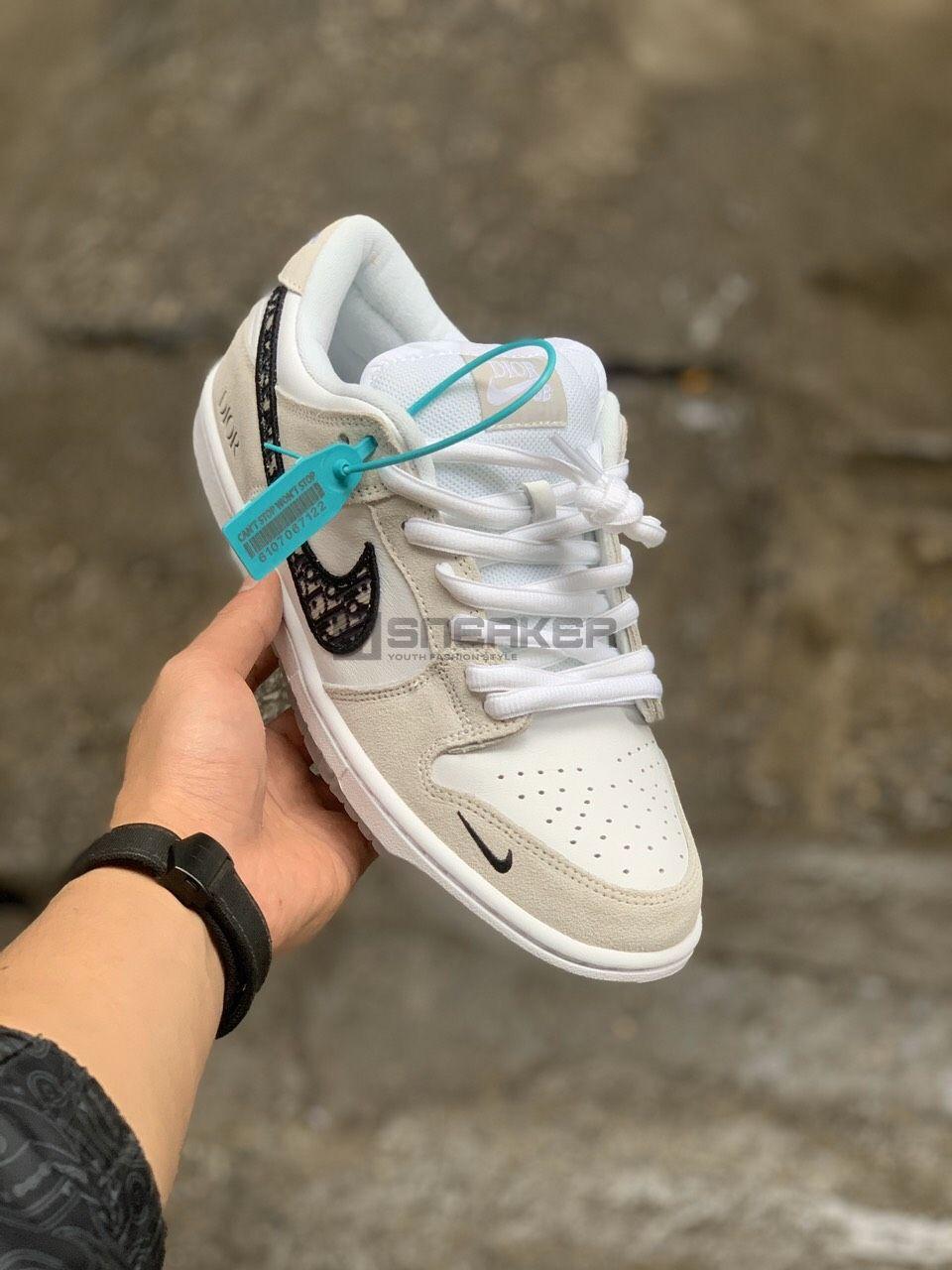 Nike SB Dunk Low X Dior Frey Sail