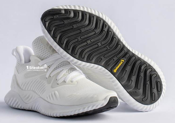 Adidas Alphabounce Trắng Beyond Cloud White