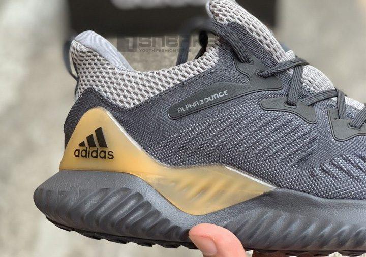 Giày Adidas AlphaBounce Beyond Xám vàng
