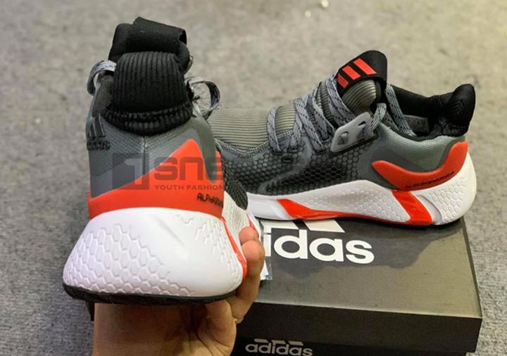 Giày Adidas Alphabounce Instinct M Đỏ Xám