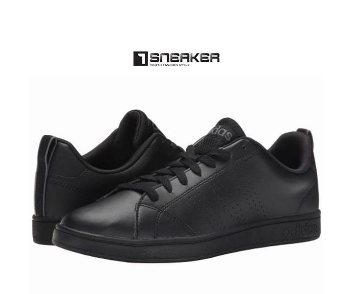 Giày Adidas nam màu đen basic cổ điển