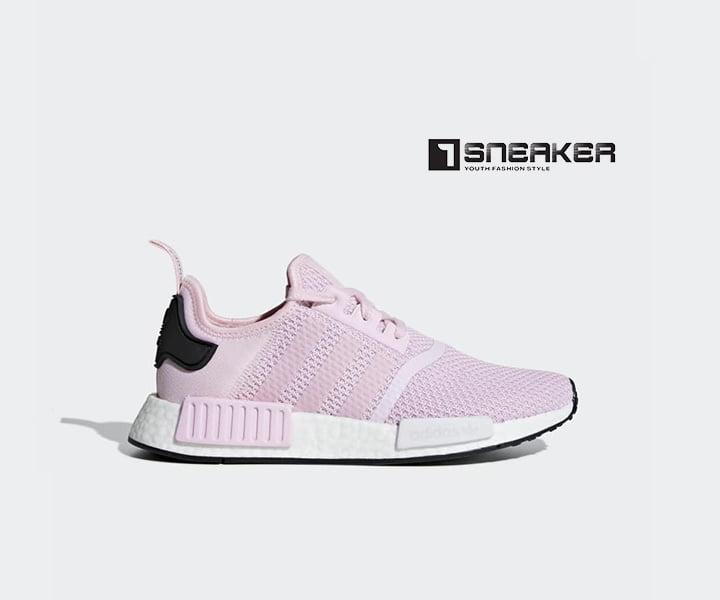 Giày Adidas nữ màu hồng
