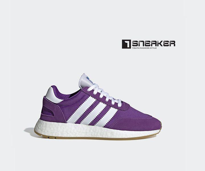 Giày Adidas nữ màu tím thể hiện cá tính mạnh mẽ