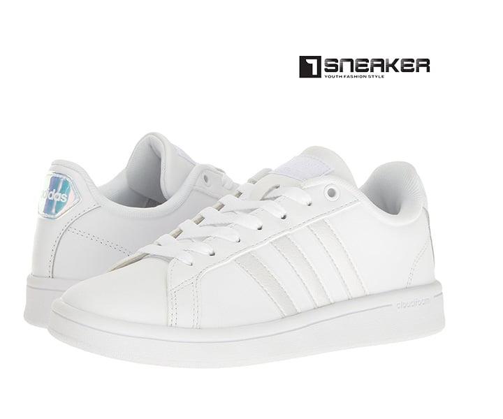 Giày Adidas trắng nữ thời thượng