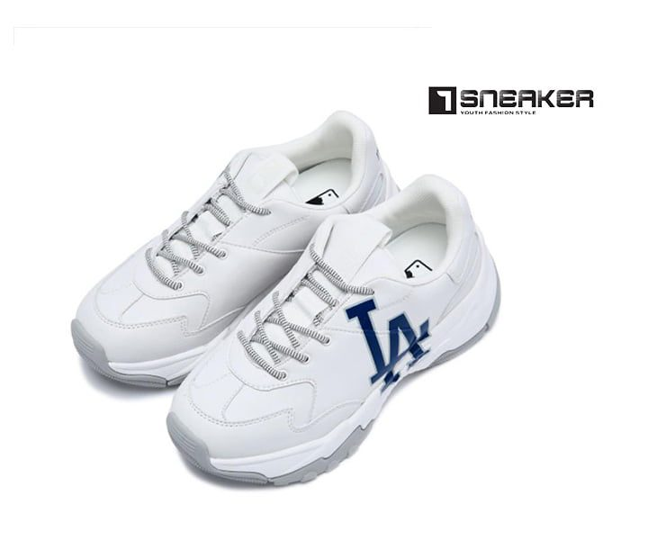 Giày MLB LA Dodgers Big Ball Chunky A Nam Nữ